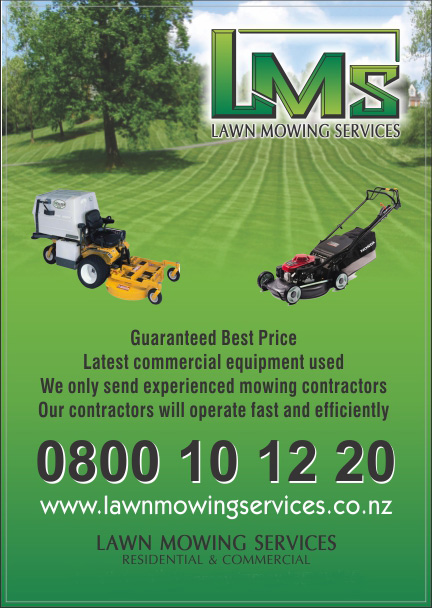 Contact for Local lawn mowing services